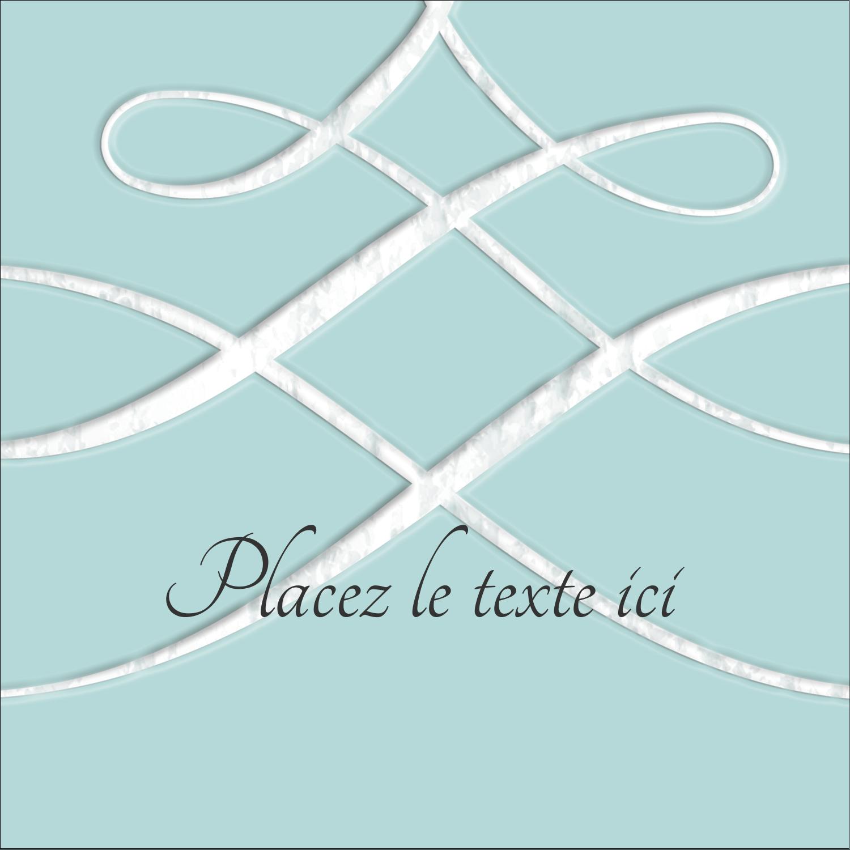 """2"""" Diameter Étiquettes rondes - Typographie élégante"""