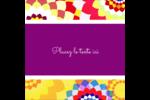 Baume à lèvres kaléidoscope Étiquettes rondes - gabarit prédéfini. <br/>Utilisez notre logiciel Avery Design & Print Online pour personnaliser facilement la conception.