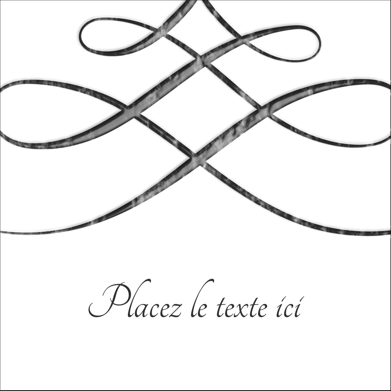 """9¾"""" x 1¼"""" Étiquettes enveloppantes - Typographie élégante"""