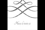 Typographie élégante Étiquettes enveloppantes - gabarit prédéfini. <br/>Utilisez notre logiciel Avery Design & Print Online pour personnaliser facilement la conception.