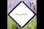 Champ de lavande Étiquettes enveloppantes - gabarit prédéfini. <br/>Utilisez notre logiciel Avery Design & Print Online pour personnaliser facilement la conception.