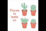 Plantes en pot fantaisistes Étiquettes enveloppantes - gabarit prédéfini. <br/>Utilisez notre logiciel Avery Design & Print Online pour personnaliser facilement la conception.