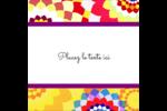 Baume à lèvres kaléidoscope Étiquettes enveloppantes - gabarit prédéfini. <br/>Utilisez notre logiciel Avery Design & Print Online pour personnaliser facilement la conception.