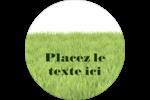 Aménagement paysager  Étiquettes rondes - gabarit prédéfini. <br/>Utilisez notre logiciel Avery Design & Print Online pour personnaliser facilement la conception.