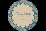 Baume à lèvres cachemire Étiquettes rondes - gabarit prédéfini. <br/>Utilisez notre logiciel Avery Design & Print Online pour personnaliser facilement la conception.