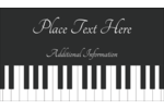 Customize pre-designed Music Keyboard templates for personal or professional projects.