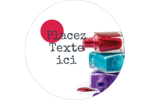 Flacons de vernis Étiquettes de classement - gabarit prédéfini. <br/>Utilisez notre logiciel Avery Design & Print Online pour personnaliser facilement la conception.