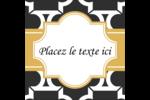 Tuile marocaine noire Étiquettes enveloppantes - gabarit prédéfini. <br/>Utilisez notre logiciel Avery Design & Print Online pour personnaliser facilement la conception.