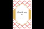 Tuile marocaine saumon Reliures - gabarit prédéfini. <br/>Utilisez notre logiciel Avery Design & Print Online pour personnaliser facilement la conception.