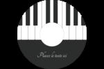 Clavier musical Étiquettes de classement - gabarit prédéfini. <br/>Utilisez notre logiciel Avery Design & Print Online pour personnaliser facilement la conception.