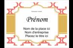 Tuile marocaine saumon Badges - gabarit prédéfini. <br/>Utilisez notre logiciel Avery Design & Print Online pour personnaliser facilement la conception.