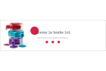 Flacons de vernis Affichette - gabarit prédéfini. <br/>Utilisez notre logiciel Avery Design & Print Online pour personnaliser facilement la conception.