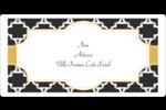 Tuile marocaine noire Étiquettes de classement écologiques - gabarit prédéfini. <br/>Utilisez notre logiciel Avery Design & Print Online pour personnaliser facilement la conception.