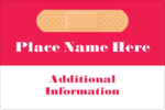 Customize business and personal projects with pre-designed Medical Bandage templates.