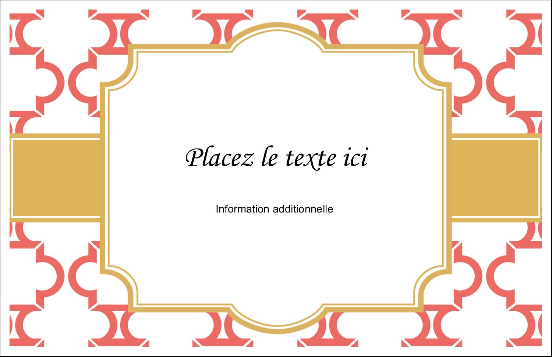 """8½"""" x 11"""" Cartes Et Articles D'Artisanat Imprimables - Tuile marocaine saumon"""
