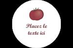 Tomate italienne Étiquettes arrondies - gabarit prédéfini. <br/>Utilisez notre logiciel Avery Design & Print Online pour personnaliser facilement la conception.