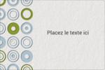 Cercles professionnels Étiquettes rectangulaires - gabarit prédéfini. <br/>Utilisez notre logiciel Avery Design & Print Online pour personnaliser facilement la conception.