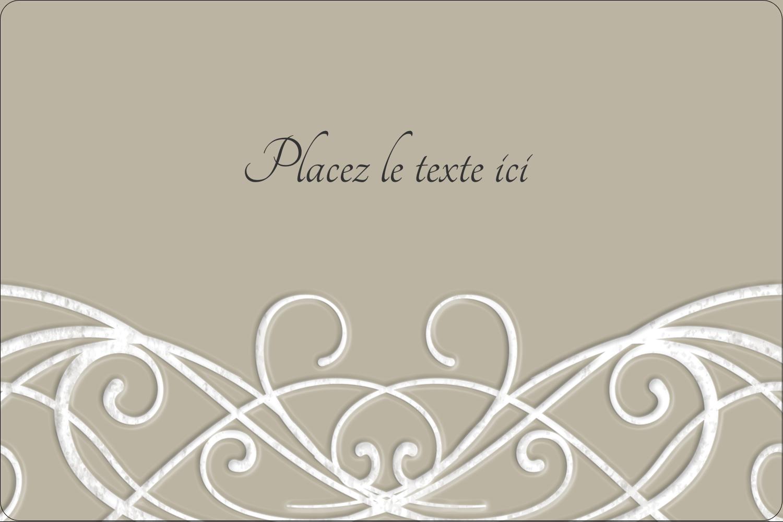 """3"""" x 3¾"""" Étiquettes rectangulaires - Typographie élégante"""