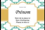 Tuile marocaine sarcelle Étiquettes à codage couleur - gabarit prédéfini. <br/>Utilisez notre logiciel Avery Design & Print Online pour personnaliser facilement la conception.