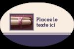 Mitzvah Étiquettes carrées - gabarit prédéfini. <br/>Utilisez notre logiciel Avery Design & Print Online pour personnaliser facilement la conception.