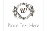 Customize pre-designed Monogram Traditional templates for business or personal projects.