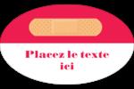 Pansement Étiquettes carrées - gabarit prédéfini. <br/>Utilisez notre logiciel Avery Design & Print Online pour personnaliser facilement la conception.