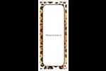 Imprimé léopard Cartes Pour Le Bureau - gabarit prédéfini. <br/>Utilisez notre logiciel Avery Design & Print Online pour personnaliser facilement la conception.
