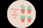 Plantes en pot fantaisistes Étiquettes de classement - gabarit prédéfini. <br/>Utilisez notre logiciel Avery Design & Print Online pour personnaliser facilement la conception.