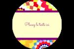 Baume à lèvres kaléidoscope Étiquettes de classement - gabarit prédéfini. <br/>Utilisez notre logiciel Avery Design & Print Online pour personnaliser facilement la conception.