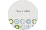 Cercles professionnels Étiquettes de classement - gabarit prédéfini. <br/>Utilisez notre logiciel Avery Design & Print Online pour personnaliser facilement la conception.