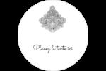 Baume à lèvres cachemire pourpre Étiquettes arrondies - gabarit prédéfini. <br/>Utilisez notre logiciel Avery Design & Print Online pour personnaliser facilement la conception.