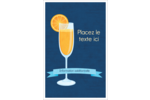 Mimosa Reliures - gabarit prédéfini. <br/>Utilisez notre logiciel Avery Design & Print Online pour personnaliser facilement la conception.