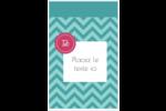 Monogramme en chevron Reliures - gabarit prédéfini. <br/>Utilisez notre logiciel Avery Design & Print Online pour personnaliser facilement la conception.
