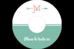 Monogramme Étiquettes de classement - gabarit prédéfini. <br/>Utilisez notre logiciel Avery Design & Print Online pour personnaliser facilement la conception.
