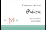 Monogramme Étiquettes à codage couleur - gabarit prédéfini. <br/>Utilisez notre logiciel Avery Design & Print Online pour personnaliser facilement la conception.