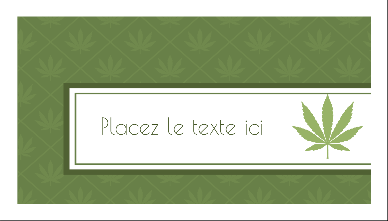 "2"" x 3½"" Carte d'affaire - Marie-Jeanne"