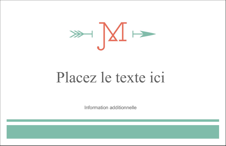 """8½"""" x 11"""" Cartes Et Articles D'Artisanat Imprimables - Monogramme"""