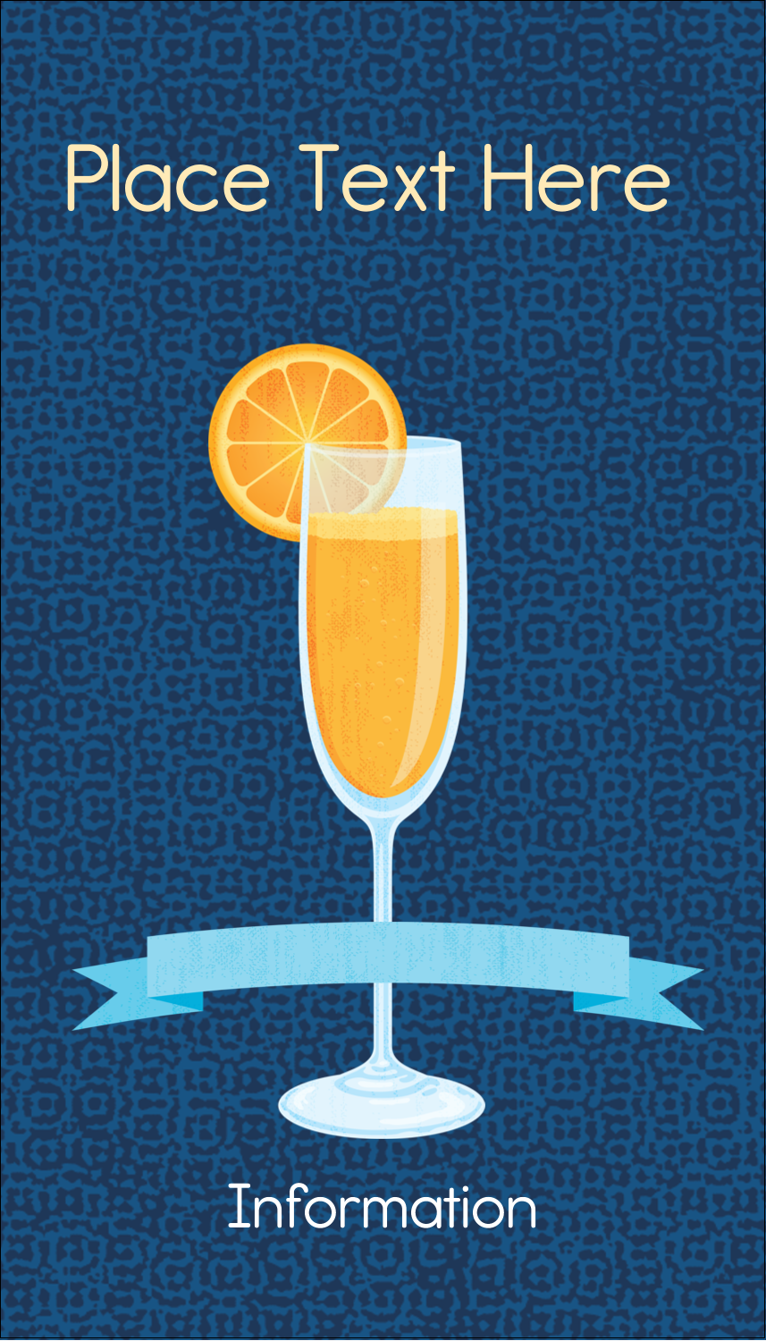 """3½"""" x 2"""" Business Card - Mimosa"""