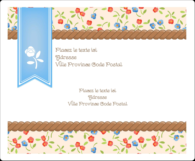 Baume à lèvres campagne Étiquettes d'expédition - gabarit prédéfini. <br/>Utilisez notre logiciel Avery Design & Print Online pour personnaliser facilement la conception.