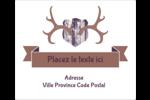 Panaches rustiques Étiquettes d'expédition - gabarit prédéfini. <br/>Utilisez notre logiciel Avery Design & Print Online pour personnaliser facilement la conception.