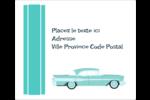 Voiture rétro Étiquettes d'expédition - gabarit prédéfini. <br/>Utilisez notre logiciel Avery Design & Print Online pour personnaliser facilement la conception.