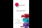 Flacons de vernis Carte d'affaire - gabarit prédéfini. <br/>Utilisez notre logiciel Avery Design & Print Online pour personnaliser facilement la conception.