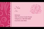 Baume à lèvres Carte d'affaire - gabarit prédéfini. <br/>Utilisez notre logiciel Avery Design & Print Online pour personnaliser facilement la conception.