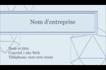 Sphères modernes pour typographie Carte d'affaire - gabarit prédéfini. <br/>Utilisez notre logiciel Avery Design & Print Online pour personnaliser facilement la conception.