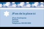 Étoile de David Judaism Carte d'affaire - gabarit prédéfini. <br/>Utilisez notre logiciel Avery Design & Print Online pour personnaliser facilement la conception.