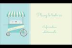 Chariot à crème glacée Carte d'affaire - gabarit prédéfini. <br/>Utilisez notre logiciel Avery Design & Print Online pour personnaliser facilement la conception.
