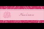 Baume à lèvres Affichette - gabarit prédéfini. <br/>Utilisez notre logiciel Avery Design & Print Online pour personnaliser facilement la conception.