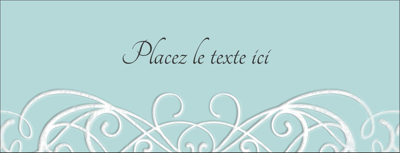"""1-7/16"""" x 3¾"""" Affichette - Typographie élégante"""