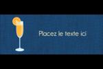Mimosa Affichette - gabarit prédéfini. <br/>Utilisez notre logiciel Avery Design & Print Online pour personnaliser facilement la conception.