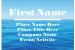 pre-designed Ocean and Sky templates make a great choice for creating customized projects.